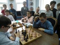 Личное первенство по шахматам среди учеников начальной школы