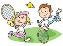 Личное первенство по большому теннису среди учеников начальной школы