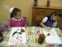 Открытый урок в 1 классе  «Волшебный цветок» в рамках декады искусств
