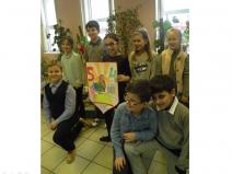В начальной школе прошла презентация проекта  «Герб нашего класса»