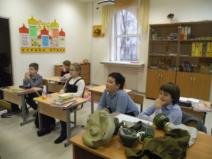 Практическое занятие по ОБЖ в начальной школе