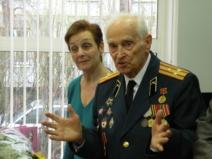 Встреча с ветераном Великой Отечественной войны Леонтьевым Леонидом Петровичем
