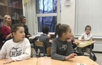 Открытый урок по русскому языку в 3 классе