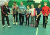 Стартовал школьный турнир по большому теннису