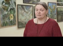 Выставка Богачевой Ольги Ивановны, учителя ИЗО