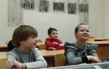 Новогоднее поздравление в 1 классе